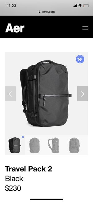 Brand new AER Travel Backpack for Sale in Mesa, AZ