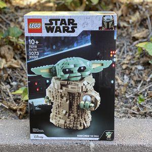 Star Wars Mandalorian Grogu The Child Baby Yoda 75318 Lego for Sale in Los Angeles, CA