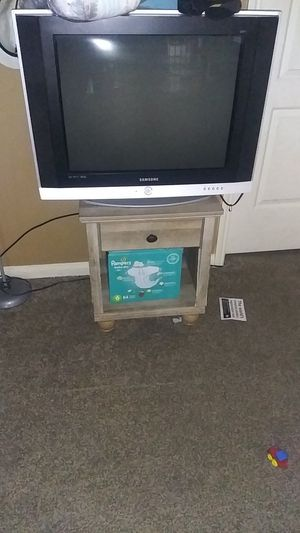 Samsung tv and two in tables for Sale in Humble, TX
