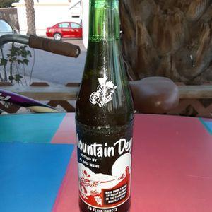 Vintage 1980's Mountain Dew Unopened Bottle. L@@K!!! for Sale in Mesa, AZ