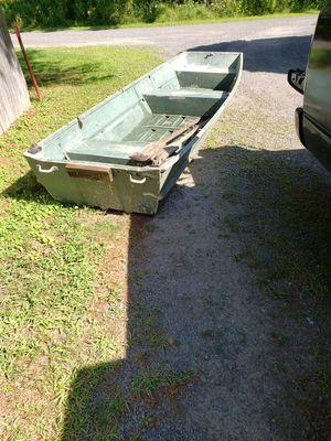12' aluminum row boat for Sale in Kingston, NY