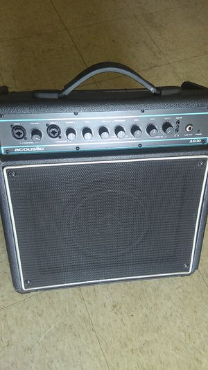 Used Acoustic AG30 30W Acoustic Guitar Combo Amp for Sale in Baltimore, MD