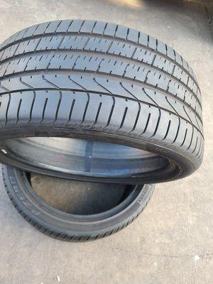pair of tires PIRELLI P ZERO. SIZE. 275/35/20 for Sale in El Monte, CA