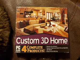 PC CD ROM Custom 3D Home: Design & Improve Your Home, 4 Power Tools for Sale in Murrieta,  CA