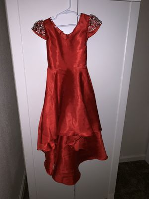 Girls holiday dress size 7 worn once paid 40 for Sale in Antioch, CA