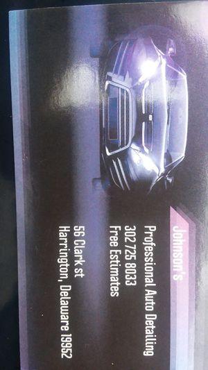 Professional Auto Detailing for Sale in Harrington, DE