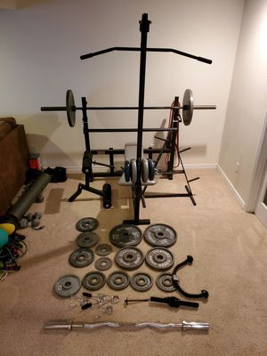 Olympic Weights and Weightbench for Sale in Littleton, CO