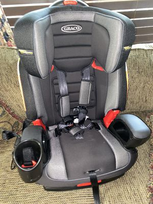 Graco nautilus 65 front facing converts to booster car seat for Sale in Houston, TX