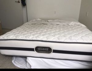 Mattress with bed frame queen size for Sale in Seattle, WA
