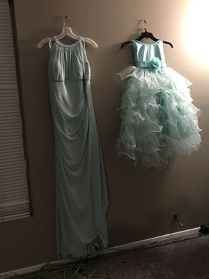 Bridesmaid/Formal dress and shoes for Sale in Florissant, MO