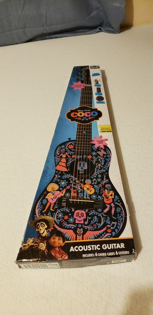 Disneys Pixar Coco First Act acoustic Guitar for Sale in El Monte, CA