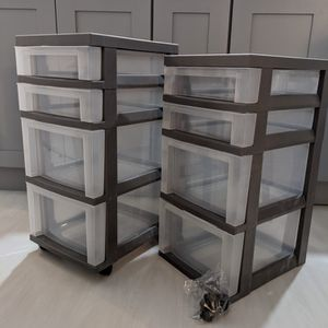 Barely/Never Used Target Mobile Storage bins for Sale in Chicago, IL