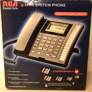 RCA 4-Line Business Telephone 25413RE3 for Sale in Knoxville, TN