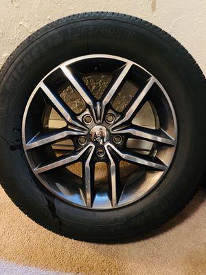 "Jeep Grand Cherokee 2017 18"" OEM Wheel Rim plus tires for Sale in Renton, WA"