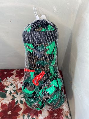 Boxing bag with gloves small camouflage for Sale in Stickney, IL