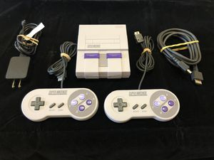 Super Nintendo Classic Edition - SNES Mini (103 games) - PRICE FIRM for Sale in Portland, OR