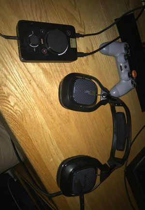 ASTRO A40 PS4/PC WITH MIXAMP for Sale in Weston, MA