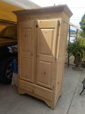 Wooden closet organizer for Sale in El Monte, CA