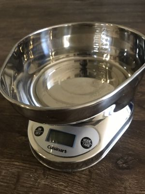 Kitchen scale cuisinart for Sale in Hollywood, CA