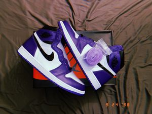 Jordan 1 Retro High Court Purple for Sale in San Diego, CA