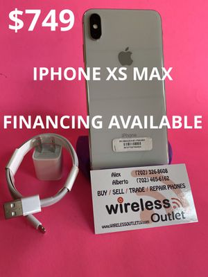 IPHONE XS MAX 64GB UNLOCKED!!! FINANCING AVAILABLE!!! for Sale in Las Vegas, NV