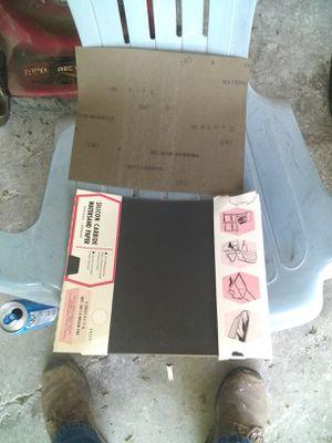 240 grit sandpaper for Sale in Corunna, MI