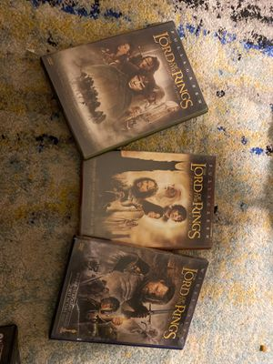 Lord of the rings collection for Sale in Collingswood, NJ