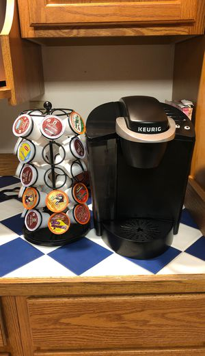 Keurig and pod holder for Sale in Tacoma, WA