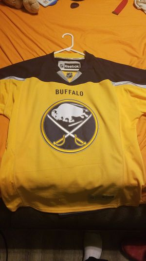 Used, Buffalo sabres jersey size large yellow for Sale for sale  Henderson, NV
