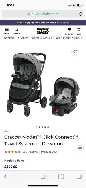 Graco Click Connect Travel System for Sale in Phoenix, AZ