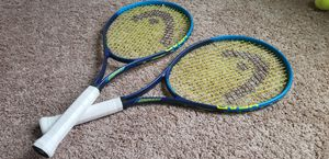Two (2) Wilson Head Tennis Rackets for Sale in Marengo, OH