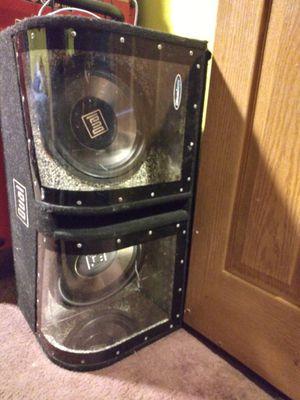 Dual Speaker and Pioneer amp for Sale in Mount Morris, MI