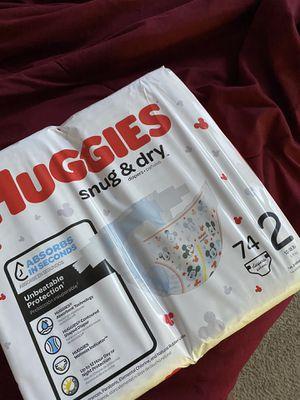 Huggies snug&dry Size 2 for Sale in Murfreesboro, TN