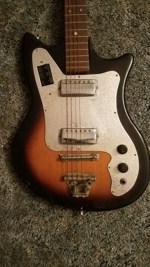 Antique Leban Cyclone Electric Guitar (1960s) for Sale in Norfolk, VA