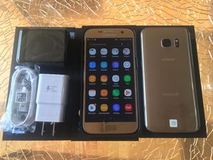 SAMSUNG GALAXY S7 32GB GSM UNLOCKED EXCELLENT CONDITION!!! for Sale in Des Plaines, IL