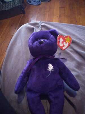 Princess Diana beanie baby (very rare) for Sale in Detroit, MI