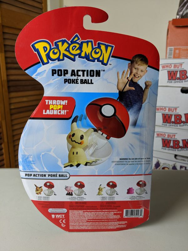 Pokemon pop action poke balls Eeve