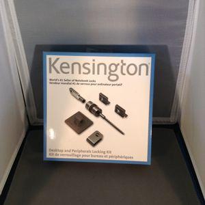 New - Kensington Desktop/Laptop locking kit for Sale in Boston, MA
