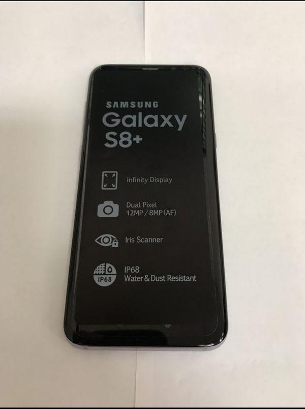 "Samsung Galaxy S8 plus 64GB FACTORY UNLOCKED"" Brand new with warranty"
