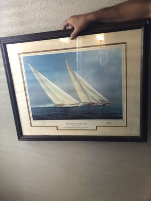 Sailing boat wall decor for Sale in Haltom City, TX