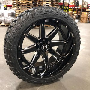 22x12 RIMS IN STOCK CONTACT FOR DEALS for Sale in Houston, TX
