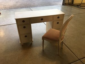 Desk and chair, baby and child for Sale in Phoenix, AZ