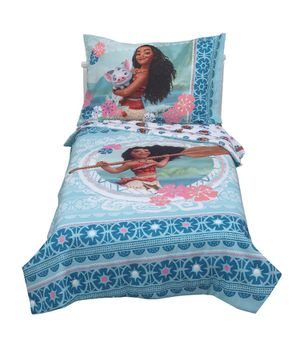 4 pc Moana toddler bed sets(2) and curtains for Sale in Avondale, AZ