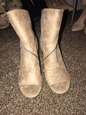 Open toed boots for Sale in Peoria, IL