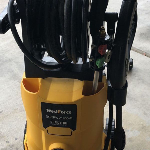 Broken - West force Electric Power Washer. Parts