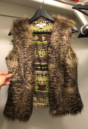 Faux Fur Vest for Sale in Whittier, CA