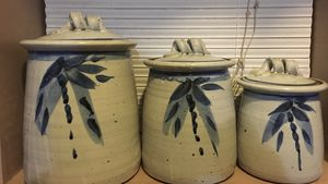 Handmade Kitchen Canister Set for Sale in Monroe, WA