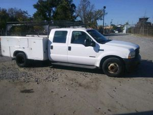 2003 Ford F350 Utility Truck 6.0 Powerstroke turbo Diesal 200k miles runs and Drives!!! READY TO WORK!!! for Sale in Fort Washington, MD