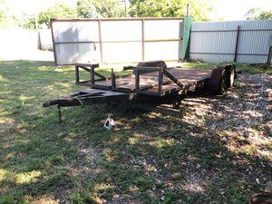 Carhauler or utility trailer 6ft x 17ft long for Sale in Houston, TX