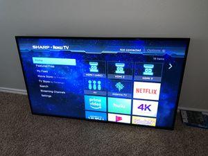"Sharp 55"" tv for Sale in Houston, TX"